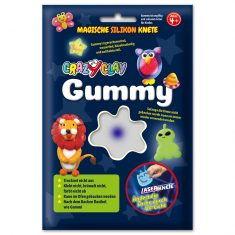 CrazyClay Gummy - Laser-Knete Weiß