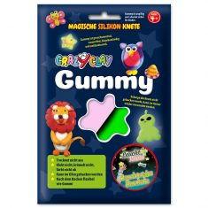 CrazyClay Gummy - Leucht-Knete Rosa