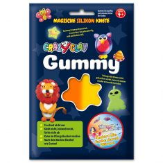 CrazyClay Gummy - Thermo-Knete Orange