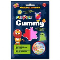 CrazyClay Gummy - Thermo-Knete Rot