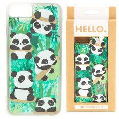 Design Handyhülle - Pandabär, Pandarama