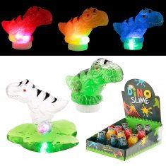 Dinosaurier-Schleim mit Leuchteffekt