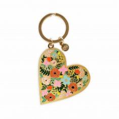 Schlüsselanhänger - Floral Heart, Rifle Paper & Co