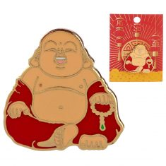 Emaille-Pin - Buddha, Lucky Buddhas