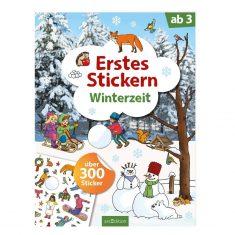 Ersters Stickern Winterzeit