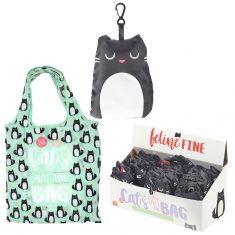 Faltbare Einkaufstasche - Katze, Feline Fine Cat