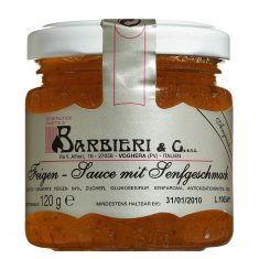 Feigensauce mit Senfgeschmack, Barbieri