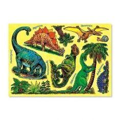 Fensterbild - Dinosaurier