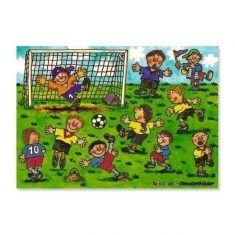 Fensterbild - Fußball