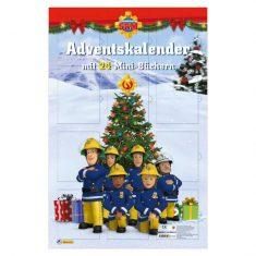 Adventskalender mit 24 Mini-Büchern: Feuerwehrmann Sam