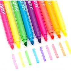 omy - Neon-Filzstifte, Set mit 9 Farben