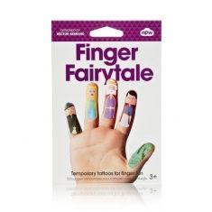 Finger-Tattoos - Finger Fairytale