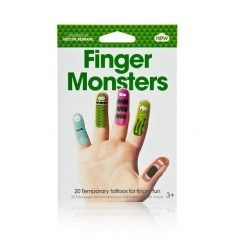 Finger-Tattoos - Finger Monsters