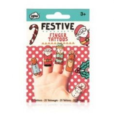 Finger-Tattoos - Weihnachten