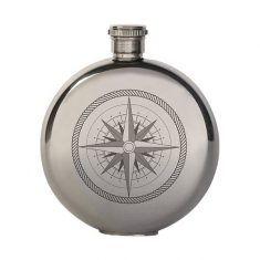 Flachmann Kompass, 90 ml
