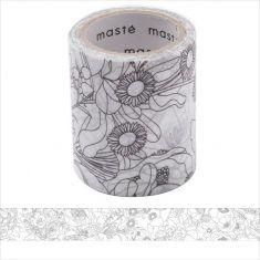 Masking Tape zum selber bemalen - Flower