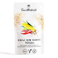 Fertiggericht - Chili sin Carne mit Kakao