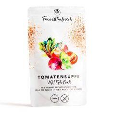 Fertiggericht - Tomatensuppe mit Rote Beete