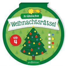 Rätselblock - Fröhliche Weihnachtsrätsel