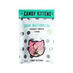 Fruchtgummi - Sour Watermelon 108g, Candy Kittens