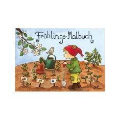 Frühlings-Malbuch