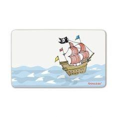 Frühstücksbrettchen - Piratenschiff
