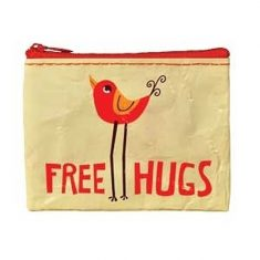 Geldbörse - Coin Purse, Free Hugs