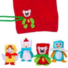 Geschenkfiguren-Tuch - Hello Winter