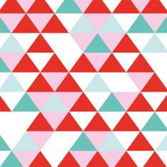 Geschenkpapier - Dreieckmix