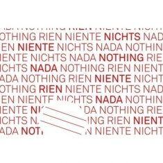 Geschenkpapier - Nichts Nada