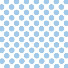 Geschenkpapier - Punkte blau