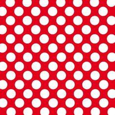 Geschenkpapier - Punkte rot