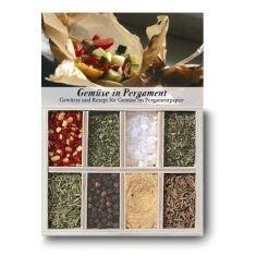 Gewürzkästchen - Gemüse in Pergament