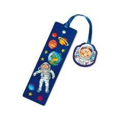 Glitter-Lesezeichen - Astronaut