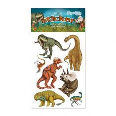 Glitter-Sticker - Dinos