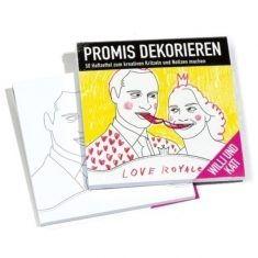 Haftzettel Promis dekorieren - Willi & Kati
