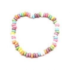 Halskette mit Traubenzuckerperlen