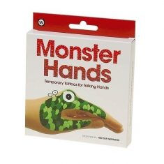 Hand-Tattoos - Monster Hands