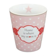 Happy Mug - Home is where my mom is