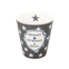 Happy Mug - Smart, strong, sexy