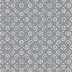Ib Laursen - Papiertüte Größe L, Blume grau