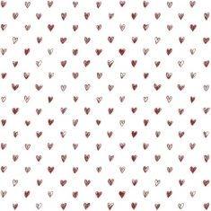 Ib Laursen - Papiertüte Größe L, Herz auf weiß