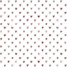 Ib Laursen - Papiertüte Größe M, Herz auf weiß