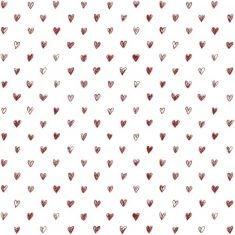 Ib Laursen - Papiertüte Größe S, Herz auf weiß