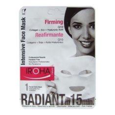 Iroha Gesichtsmaske Q10, Collagen, Soy & Hyaluronic Acid