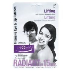 Iroha Intensiv Eye & Lip Patches Peptides & Hyaluronic Acid