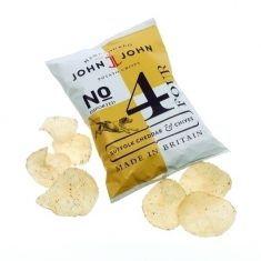 John & John Crisps - Suffolk Cheddar & Chives
