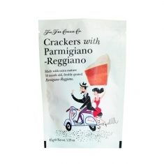 Käse-Cracker - Crackers with Parmigiano-Reggiano