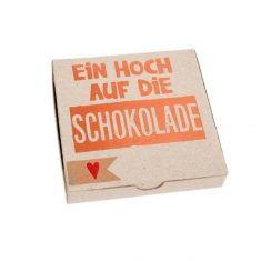 Kartenbox - Ein Hoch auf die Schokolade