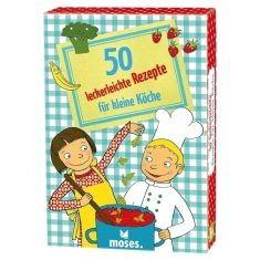 Kartenset - 50 leckerleichte Rezepte für kleine Köche